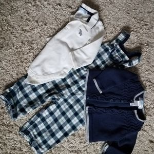 Janie and Jack 3 piece outfit